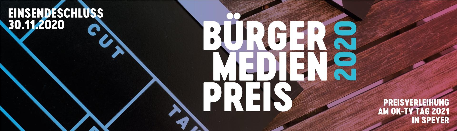 Logo Bürgermedienpreis